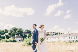 Bride and Groom Portraits in Dover by weheartpictures.com