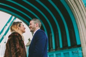 Tower Bridge, Alternative Wedding Photographer, Engagement Shoot, London in the Autumn, St Katharine Dock