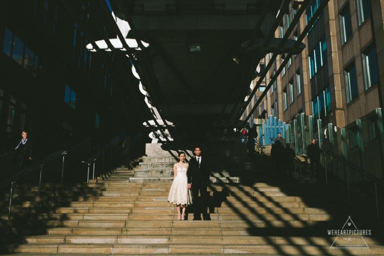 London St Paul, Millenium Bridge, Engagement Shoot, Creative Wedding Photographer