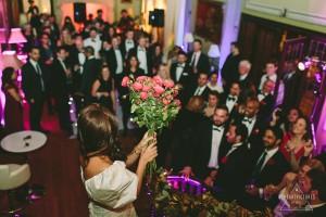 Toss the Bouquet, Fetcham Park Wedding Photographer, Valentines Day Wedding, Alternative Wedding Photographer