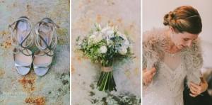 Jimmy Shoe, Bouquet, Bride, Conway Hall-Stoke Newington Hall-Wedding Photos