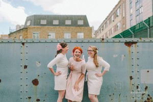 Creative & Alternative Wedding Photographer-London Wedding at Chads Place Kings Cross & St Stephens Church in Hampstead- Preparations at the Renaissance Hotel- Vintage Wedding Dress, Routemaster and Vivienne Westwood Shoes