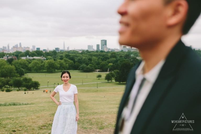 Alternative engagement shoot London Westminster Photographer
