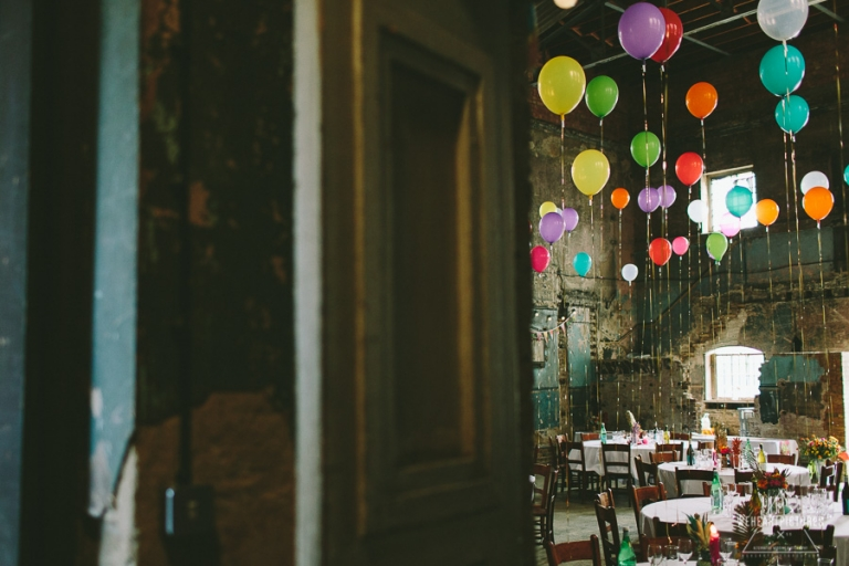 Setting Tables_Wedding Breakfast_Caroline_Gardens_Asylum_chapel_Alternative_Wedding_Photography