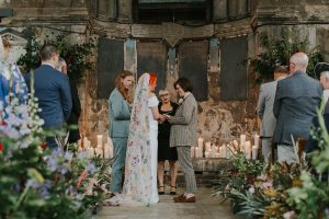 Same Sex Wedding London Trinity Buoy Wharf and Asylum Chapel Alternative Wedding Photographer
