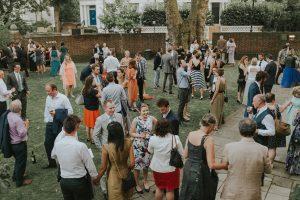 London Camden Cecil Sharp House Alternative wedding photographer
