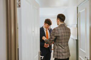 London-peckham-alternative-wedding-photography-clayton-arms-wedding-Franks Cafe, The windmill Hotel Wedding Preps
