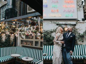 The Groucho Wedding Photography_London_Soho_Alternative Wedding photographer