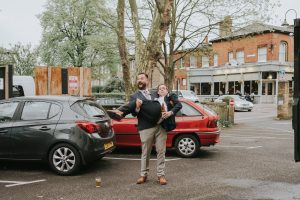 London Wedding in Walthamstow Orford House_Bride and Groom Portraits at Gods Own Yard and the Walthamstow Village_Alternative Wedding Photographer